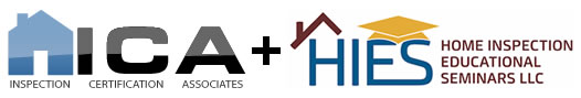 Inspecition Certification Associates + Home Inspection Educational Seminars